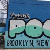 Photo taken at Kosciuszko Pool by Kelsey S. on 7/14/2014