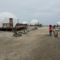 Photo taken at Lodge Punta de Domos by C Ignacio J. on 6/7/2013
