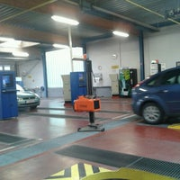Photo taken at Autokeuring Asse by Kevin D. on 12/18/2012