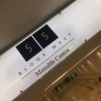 Manulife Centre Shopping Mall In Toronto