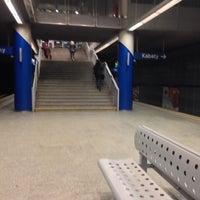Photo taken at Metro Marymont by Cezary P. on 11/22/2013