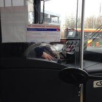 Photo taken at Autobus 217 by Cezary P. on 11/14/2013
