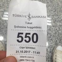 Photo taken at Türkiye İş Bankası by Emre Y. on 10/31/2017