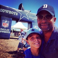 Photo taken at Dallas Cowboys Training Camp by Shaun L. on 8/12/2014