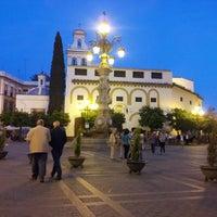 Photo taken at Virgen de los Reyes Square by Max V. on 4/21/2013