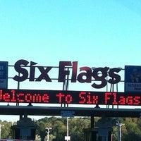 10/20/2012 tarihinde Traci R.ziyaretçi tarafından Six Flags Over Georgia'de çekilen fotoğraf