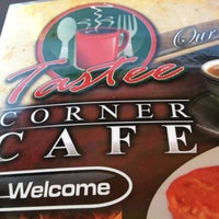 Photo taken at Tastee Corner Cafe by Joe K. on 11/18/2012