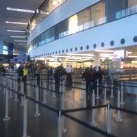Photo taken at Vienna International Airport (VIE) by Bodi A. on 11/2/2012