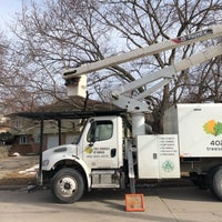 Photo taken at Tree Services of Omaha by Leah B. on 3/11/2018
