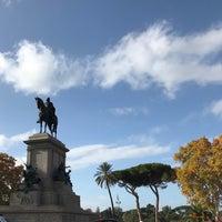 Photo taken at Piazzale Giuseppe Garibaldi by Kristin on 11/26/2017