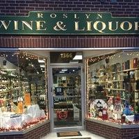 Photo taken at Roslyn Wine & Liquor by Roslyn Wine & Liquor A. on 1/12/2016