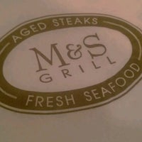 Photo taken at M&S Grill by Matthew M. on 1/17/2013