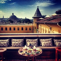 Photo taken at Four Seasons Hotel Istanbul at Sultanahmet by Hande on 5/22/2013
