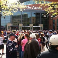 Photo taken at Nationwide Arena by Tami W. on 4/27/2013