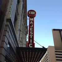 Photo taken at Majestic Theatre by Whitney K. on 7/11/2013