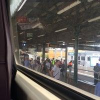 Photo taken at Strathfield Station (Platforms 7 & 8) by Tim P. on 12/17/2016