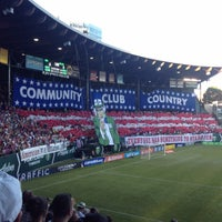 Photo taken at Providence Park by Joe S. on 7/10/2013
