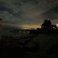 Photo taken at Taarbæk Havn by Armīns T. on 1/31/2018