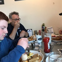 Photo taken at Blue Plate Kitchen by Lee G. on 4/29/2018