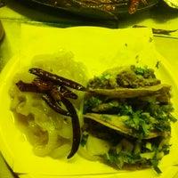 Photo taken at Tacos Bomberos by Manuel C. on 3/9/2014