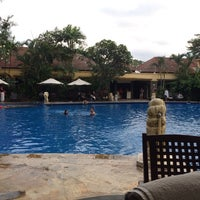 Photo taken at Araya Swimming Pool by Herdian F. on 11/30/2013