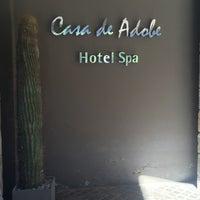 Photo taken at Hotel Casa De Adobe by Juan R. on 10/20/2015