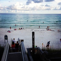 Photo taken at Seagrove Beach by William G. on 6/22/2013