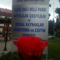Photo taken at lgaz Dağı Milli Parkı Biyolojik Çeşitlilik ve Doğal Kaynaklar Arşt . ve Eğt.Mrk. by Mustafa H. on 7/21/2016