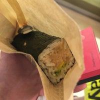 Photo taken at Sushi Hub by Jiawei Y. on 4/15/2017