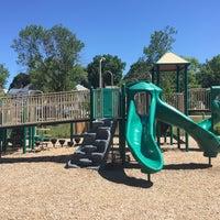 Photo taken at Pat & Gabriel Farren Playground by Joe P. on 7/4/2016