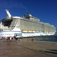 Photo taken at International Cruise Terminal by Ray A. on 9/28/2012