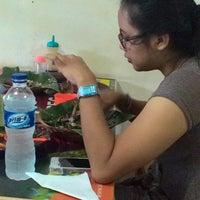 "Photo taken at Bebek Ireng Suroboyo ""Cak Baz"" by novella S. on 2/8/2015"