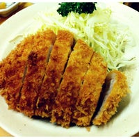 Photo taken at Tonkatsu Enraku by mi on 5/12/2013