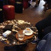 Photo taken at Green Caffè Nero by Zosia👯 Z. on 3/17/2015