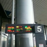 Photo taken at 第1ターミナル 5番バスのりば by まっき on 9/6/2016