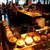 Photo taken at Blue C Sushi by Patrick R. on 7/27/2013