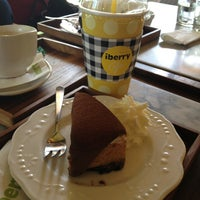 Photo taken at iberry Café by NhamNing on 3/26/2013