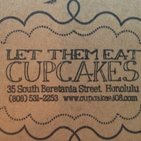 Photo taken at Let Them Eat Cupcakes by Nancy W. on 6/8/2013