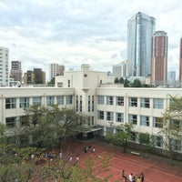 Photo taken at 麻布学園 麻布中学校・高等学校 by Nong Y. on 9/12/2016