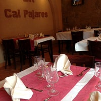 Photo taken at Restaurant Cal Pajares by Restaurant C. on 10/12/2013