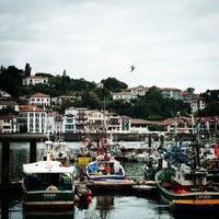 Photo taken at Ciboure by Katia S. on 8/4/2014
