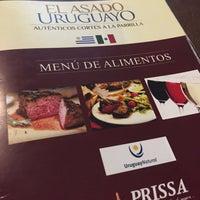 Photo taken at El Asado Uruguayo by Many A. on 10/18/2016