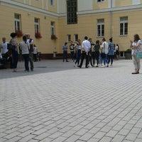"Photo taken at Colegiul National ""Andrei Muresanu"" by Bordean A. on 7/6/2016"