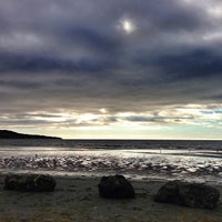 Photo taken at Bull Island by Ronan M. on 8/30/2013