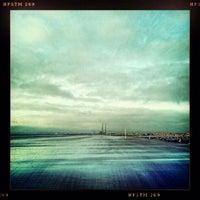 Photo taken at Bull Island by Ronan M. on 2/15/2013