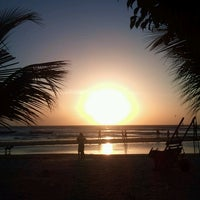 Photo taken at Praia de Jericoacoara by Irishdan B. on 2/28/2013