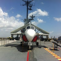 Photo taken at USS Lexington Museum On The Bay by Sergey K. on 6/19/2013