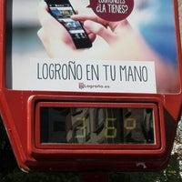 Photo taken at Logroño by Hilde V. on 7/3/2016