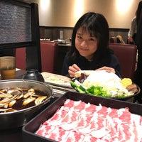 Photo taken at 魯山人和風壽喜鍋物 by Joan L. on 2/15/2017
