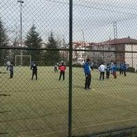 Photo taken at Ankaraspor Futbol Okulu by Arif Ç. on 3/29/2015